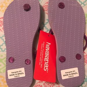 Havaianas Shoes - Girls Havaianas Jasmine Flip Flops